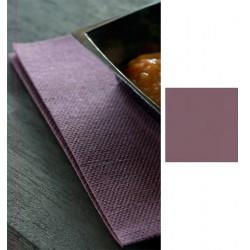 Carton de 720 serviettes 40 x 40 cm Dunisoft prune