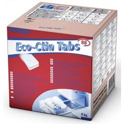 Carton de 200 tablettes détergentes lave vaisselle Ecoclin tabs 88