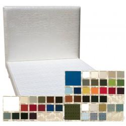Tête de lit tissu spécifique non boutonnée H95 x L120 cm