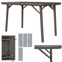 Table pliante polyéthylène Excellence L122 x P76,2 cm
