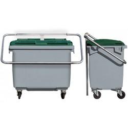 Protège conteneur modèle à levier Ascain 800 L