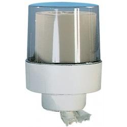 Grand dévidoir central Ecoplus ABS blanc transparent diam 210 mm