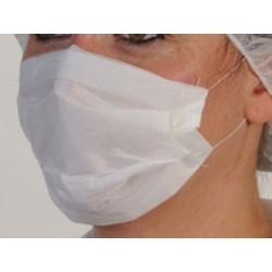 Masque papier blanc 2 plis (le carton de 10000)