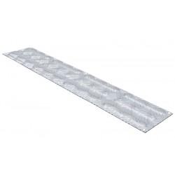 Bande d'aide à l'orientation intérieure aluminium L84 x P18 cm