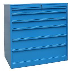 Armoire d'atelier 10 tiroirs L100,5 x P59 x H105,2 cm