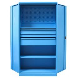 Panneau perforé porte outil pour armoire d'atelier Supra L100 x H45 cm