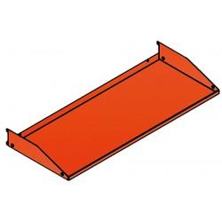 Etagère pour panneau perforé L50,2 x P25 cm