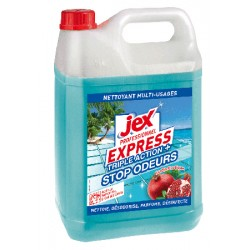Lot de 4 bidons jex Professionnel Express desinfectant Triple action+ Jardin exotique