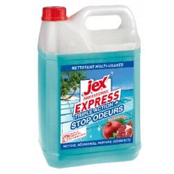 Lot de 4 bidons jex Professionnel Express desinfectant Triple action+ Jardin exotique