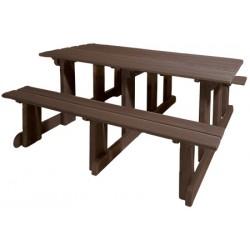 Table pique nique 100% recyclé Hendaye 200x150 cm