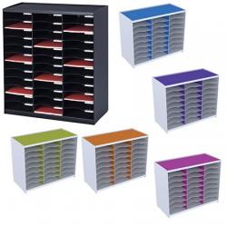 Trieur monobloc Evolution 36 cases couleur L67,4 x P34,2 x H79,1 cm