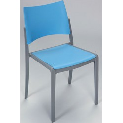 Chaise empilable exterieure Kobi