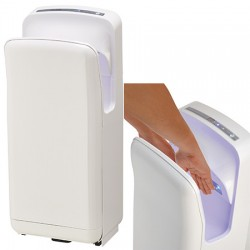 Sèche-mains automatique vertical Aery First blanc