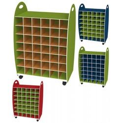 Range serviettes double entrée  L60 x P35 x H88 cm