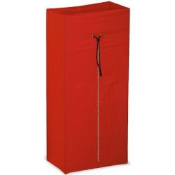 Sac rouge avec zip 120 L pour chariot Orion Porte-sacs