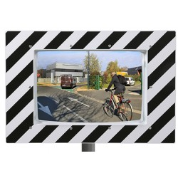 Miroir routier 400x600 mm Eco garantie 3 ans