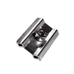 Fixation inter-grilles nickelée pour grille d'exposition modulaire