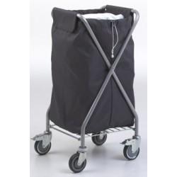 Sac en polyester gris 145L pour chariot de collecte