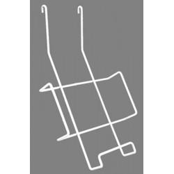 Porte livres pour grille d'exposition modulaire
