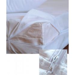 Lot de 12 housses de matelas anti-punaises de lit 90x190+20 cm