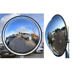 Miroir multi-usages panoramiques vision 180° diam. 400 mm garantie 3 ans