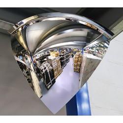 Miroir hémisphérique vision 90° contrôle 2 directions diam 1000 mm garantie 3 ans