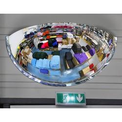 Miroir hémisphérique vision 180° contrôle 3 directions diam 600 mm garantie 3 ans