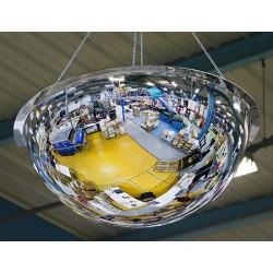 Miroir hémisphérique vision 360° contrôle 4 directions diam 1000 mm garantie 3 ans