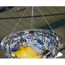 Rouleau de 30 m de chainette en acier pour miroir hémisphérique vision 360°
