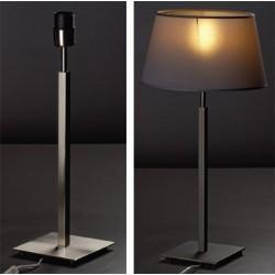 Lampe Bahia graphite avec cache douille