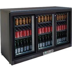 Arrière de comptoir réfrigéré 3 portes coulissantes 320 l