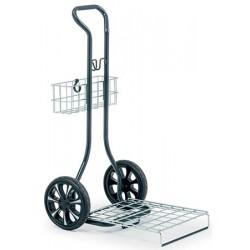Chariot Compact Plus pour panier à linge L55,1xP70,1xH110,1 cm