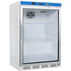 Armoire réfrigérée ventilée porte vitrée 130l