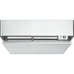 Hotte de condensation inox pour four mixtes L81 x P99,5 x H23 cm