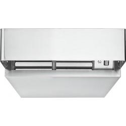 Hotte de condensation inox pour four mixtes L80 x P91,5 x H23 cm