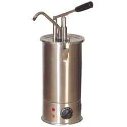 Distributeur de sauces chauffant inox 3 l