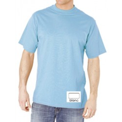Lot de 100 tee-shirts col rond premium blanc 150 g