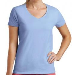 Lot de 100 tee-shirts femme col V standard couleur 190 g