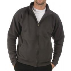 Lot de 24 sweats avec zip polycoton 285 g