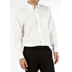 Lot de 25 chemises homme Oxford 150 g 3XL et 4XL