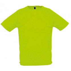 Lot de 50 tee-shirts polyester respirant couleur 140 g