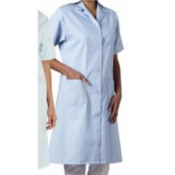 Le lot de 50 blouses manches courtes unie blanc 190g