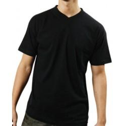 Tee-shirt col V couleur 150 g