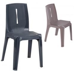 Chaise empilable monobloc Salsa M2