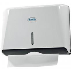 Distributeur essuie-mains enchevêtré en Z Mini Handy blanc