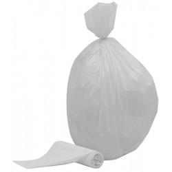 Colis de 1000 sacs poubelles blancs 20 l