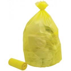 Colis de 200 sacs poubelles jaune 110 l