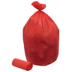 Colis de 200 sacs poubelles rouge 110 l