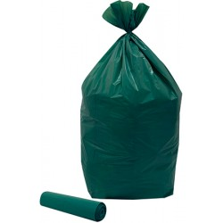 Colis de 200 sacs poubelles vert 110 l
