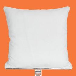 Oreiller Carnac garnissage 600g enveloppe polyester coton 60 x 60 cm